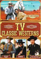 CLASSIC TV WESTERNS (LONE RANGER / SHOTGUN SLADE / ZORRO / CISCO KID) (DVD)