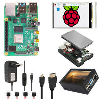 """Raspberry Pi 4 B (2/4GB) 3.5"""" Touch Screen Upgrade Kit with Fan + Power + HDMI"""