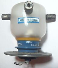 Jennings 25kV 25A SPDT Glass Vacuum Relay, Tested - Working, RE6B-26N400