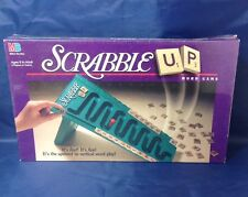 Vintage 1996 Scrabble Up Word Board Game - Milton Bradley New