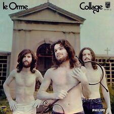 LE ORME Collage (black vinyl) LP Italian Prog