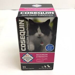 Nutramax 55 Count Cosequin Feline Health Joint Care Supply.   8A85
