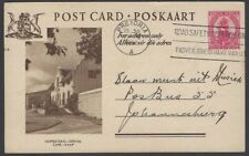 South Africa pictorial postal card HOMESTEAD CAPE used 1952