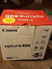 Canon optura 400 digital video camcorder, used once, please see below inclusions