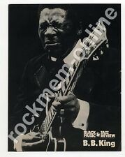 B.B. King Black Music Magazine Poster