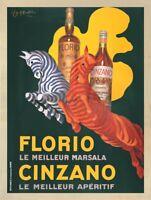 Porto Pitters by Leonetto Cappiello Art Print Vintage Wine Bar Poster 39x51