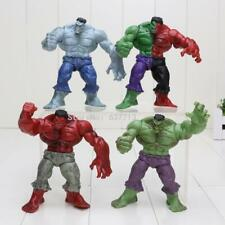 4Pcs/Set Avengers 2 Hulk 4 Different Compound Red Grey Green Action Figure *RARE