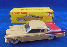Dinky toys 169 Studebaker Golden Hawk Tan & Red  Exceptional Original & Superb