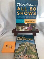 Rick Steves Europe Boxed Set 2000-2009 DVD 13 Disc Set Travel New + BONUS!   D44
