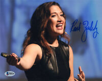 RANDI ZUCKERBERG SIGNED 8x10 PHOTO SISTER OF MARK COFOUNDER FACEBOOK BECKETT BAS