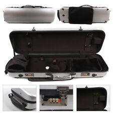 4/4 Violin case Mixed Carbon Fiber Strong Hard Case yinfente silver color#4