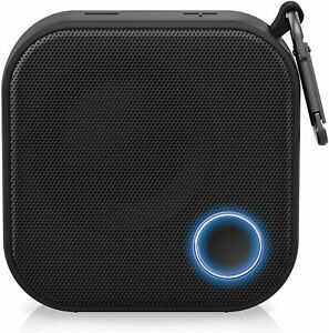 Brookstone Big Blue Go Compact Wireless Portable Bluetooth Speaker