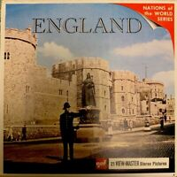 England - 60s - ViewMaster 3 Reel Packet B156