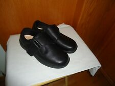 Orthofeet Broadway Men's Wide Black Leather Shoes Size 11 Wide
