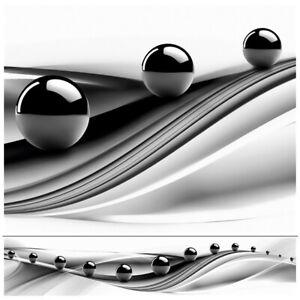 Küchenrückwand kein Glas biegbar HOCHWERTIG ABS-Kunststoff 60x300cm schwarz weiß