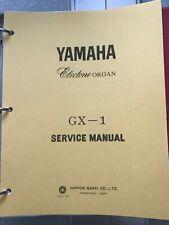 Yamaha Electone Service Manual Model GX-1