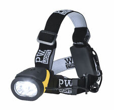 Camping & Hiking Head Torches with 3 Batteries