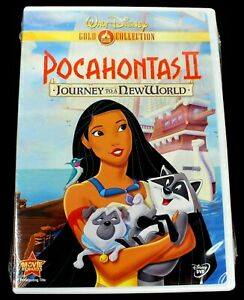 Walt Disney Gold Collection Pocahontas II Journey To A New World New Sealed DVD