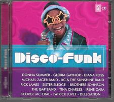 2 CD COMPIL 40 TITRES--DISCO FUNK--SUMMER/GAYNOR/ROSS/SLEDGE/CARA/JUVET/McCRAE