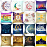 2019 New Muslim Ramadan Pattern Polyester Cushion Cover Pillow Case Home Decor