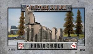 Battlefield in a Box BB177 15mm Terrain Ruined Church