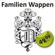 Wappendesign Ihr eigenes Familienwappen vom Designer Wappen der Familie
