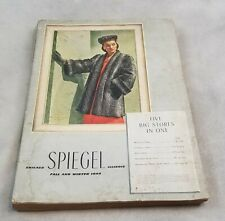 1944 SPIEGEL Fall Winter CATALOG WWII Fashion Toys Dolls Furniture 630 pgs