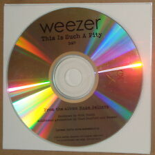 Weezer - This Is Such A Pity CDr promo US Geffen Records 2006