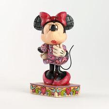 Minnie Mouse Sweetheart Diva Lipstick Figure Disney Jim Shore 4031476 NEW NIB