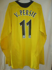 Arsenal 2005-2006 van persie Away Football Chemise à manches longues grande taille 15945