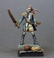 Blackknife Razig Sergeant Reaper Miniatures Warlord Skeleton Undead Pirate Melee