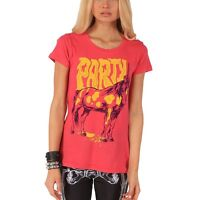 IRON FIST PARTICORN PINK LADIES T-SHIRT TOP TEE ALL SIZES   (B6C)