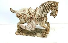 Antique Chinese Han Dynasty Pottery Horse Statue