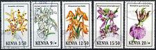 Kenya 1994 SG#621-5 Orchids, Flowers Used Set #E4515