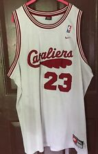 Cleveland Cavaliers #23 Lebron James White Nike Team Sport Jersey Size 3XL
