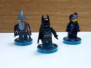 Lego Dimensions Starter Pack Figures Batman Gandalf Wyldstyle