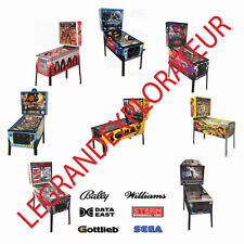 Bally Midway Data East SEGA Stern Williams Pinball Owner & Service Manual s  DVD