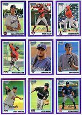 2010 Bowman Chrome Draft Picks / Prospects Purple Refractor You Pick The Card