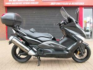 YAMAHA XP 500 T-MAX SCOOTER 2011 FDSH EXTRAS HPI WARRANTY FINANCE T MAX TMAX