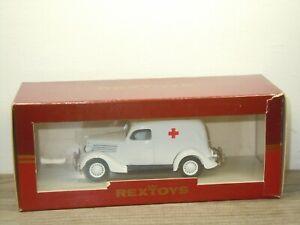 1935 Ford Ambulance - Rextoys 1:43 in Box *52390