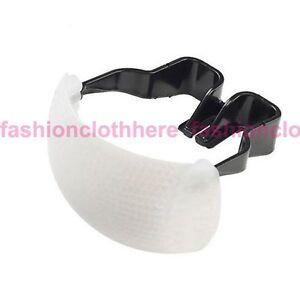 White Pop-Up Flash Diffuser For Canon 10D 50D 400D 7D Mark 1200D SX60 SX50 HS