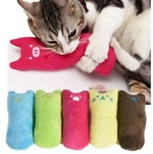 Teeth Grinding Catnip Toys Funny Interactive Plush Pet Kitten Chewing Cat Toys