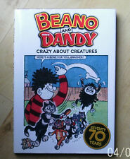 BEANO AND THE DANDY CRAZY ABOUT CREATURES 70 YEARS ANNIVERSARY HARDBACK
