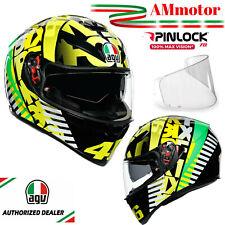 Helm Valentino Rossi AGV K3 SV Top Tribe VR 46 integralhelm Motorrad Größe ML