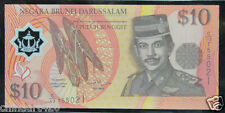 Brunei Polymer Banknote 10 Ringgit 1998 UNC