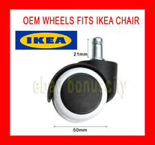 IKEA Office Chair Roller Wheels Study Gaming Leg Caster