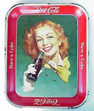 Vintage Coke Coca Cola Tray. Original.