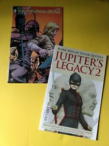 The Walking Dead 154 1st Print NM Beta Jupiter's Legacy preview