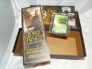 LORD OF THE RINGS TCG RETURN OF THE KING ANTHOLOGY 17 CARD TENGWAR SET IN BOX