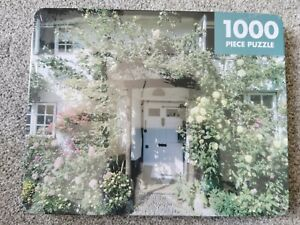 Factory Sealed Robert Frederick 1000 piece Jigsaw Puzzle  Cottage  In A Tin Box